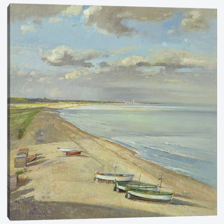 Towards Southwold Canvas Print #EST54} by Timothy Easton Canvas Artwork