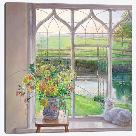 Dawn Breeze Canvas Print #EST8} by Timothy Easton Art Print