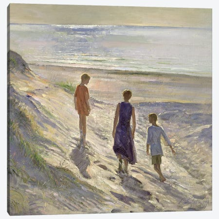 Down To The Sea Canvas Print #EST9} by Timothy Easton Art Print