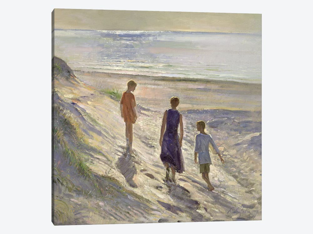 Down To The Sea by Timothy Easton 1-piece Canvas Art Print