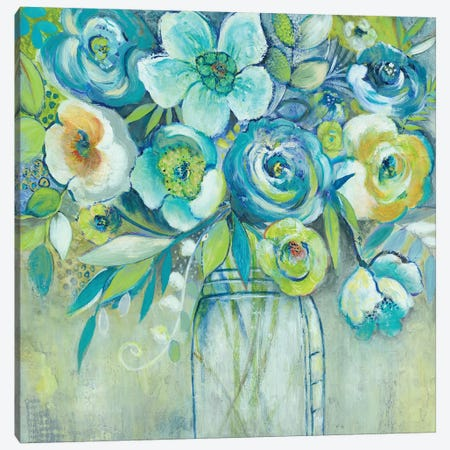 Late Summer Blooms I 3-Piece Canvas #ESU1} by Elle Summers Canvas Art