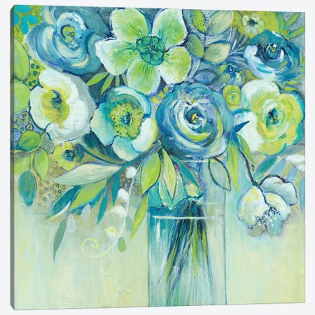 Late Summer Blooms II Canvas Print #ESU2} by Elle Summers Canvas Art