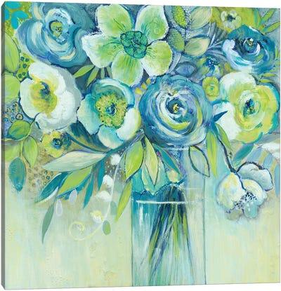 Late Summer Blooms II Canvas Art Print
