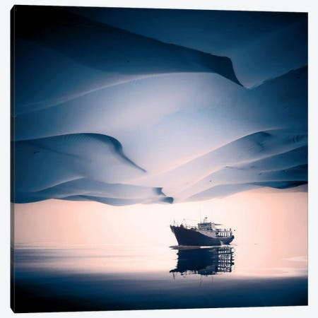 Desertir Canvas Print #ESV13} by Evgenij Soloviev Canvas Print