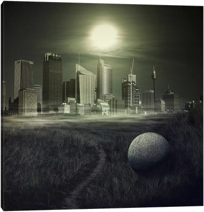 sphere Canvas Art Print