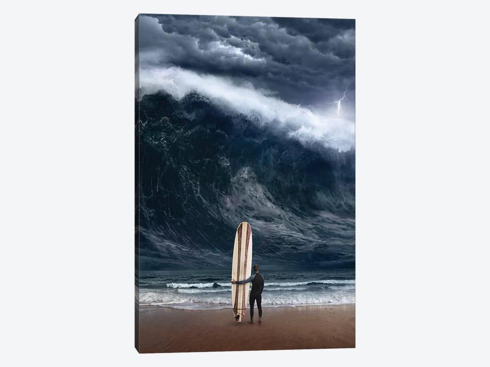 Surf Cataclysm by Evgenij Soloviev 1-piece Canvas Print