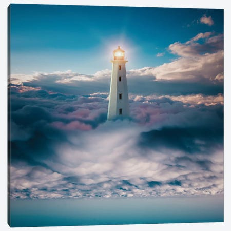 Light Skyer Canvas Print #ESV467} by Evgenij Soloviev Canvas Wall Art