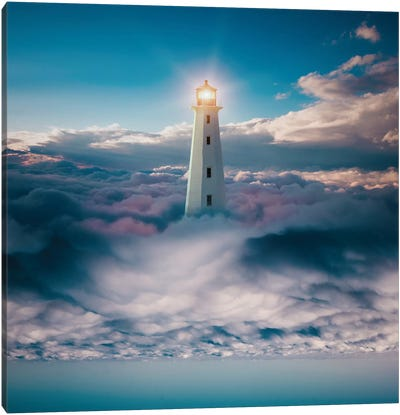 Light Skyer Canvas Art Print