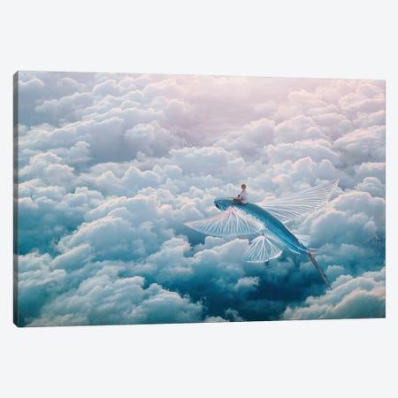 Plane Canvas Print #ESV468} by Evgenij Soloviev Canvas Art Print