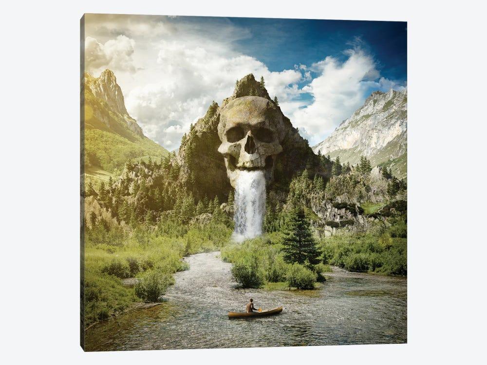 Skull Mountain by Evgenij Soloviev 1-piece Canvas Print