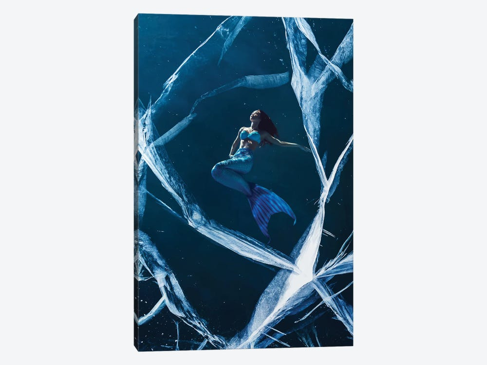 Ice Mermaid 1-piece Canvas Artwork
