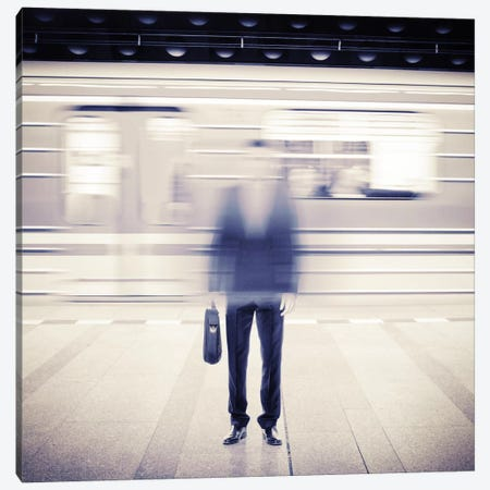 Subwaytional I Canvas Print #ESV50} by Evgenij Soloviev Canvas Art Print