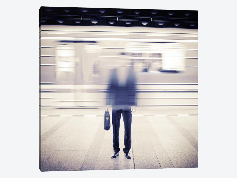 Subwaytional I by Evgenij Soloviev 1-piece Canvas Wall Art