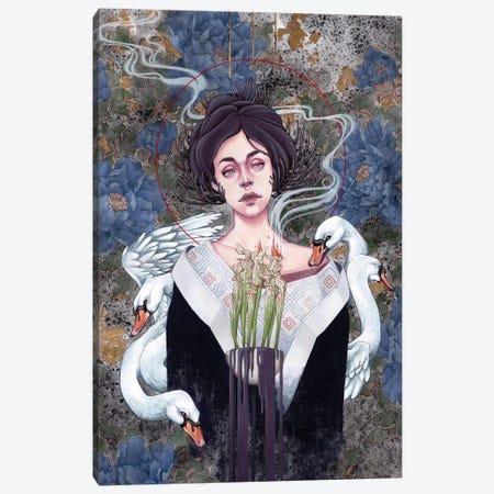 Fume Canvas Print #ETA10} by Etara Art Print