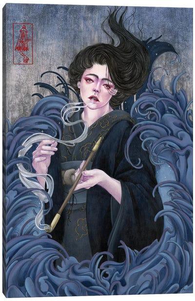 Last Breath In The Night Canvas Art Print