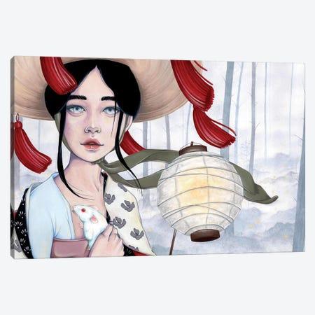 Light Spirits Canvas Print #ETA14} by Etara Canvas Wall Art
