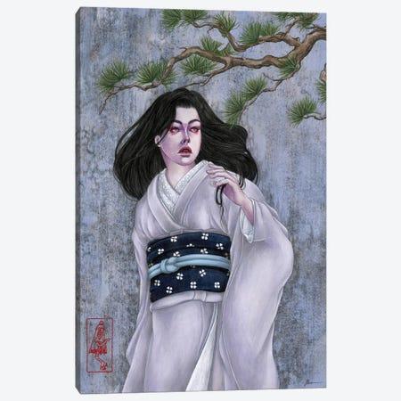 Lone Pine Canvas Print #ETA17} by Etara Canvas Artwork