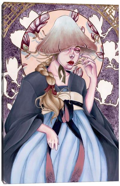 Aaayeee Canvas Art Print