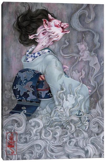 Smoke Of Gods Canvas Art Print