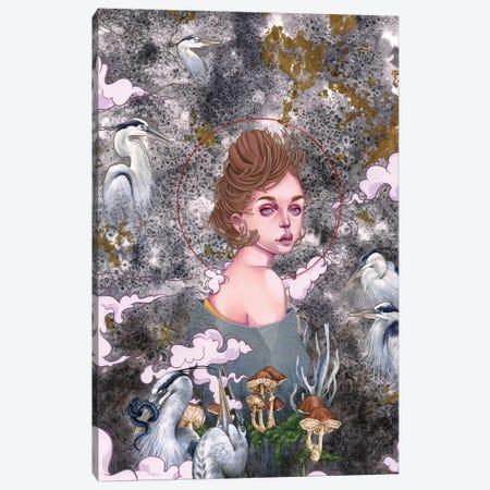Spore Canvas Print #ETA21} by Etara Canvas Artwork