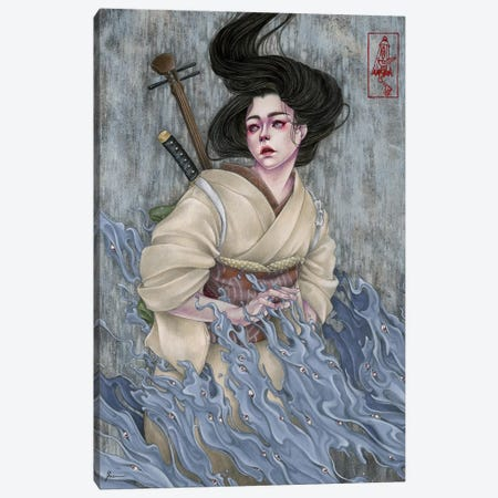 Ancient Eyes Canvas Print #ETA2} by Etara Canvas Wall Art