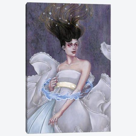 Aquarius Canvas Print #ETA4} by Etara Canvas Art Print