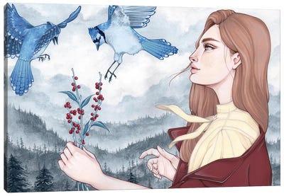 Blue Jays Canvas Art Print