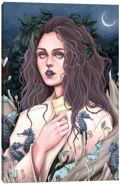 Dark Sea Canvas Art Print