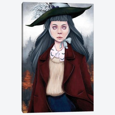 Fall Tale Canvas Print #ETA9} by Etara Canvas Art