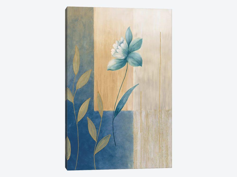 Fleurs bleues II by Etienne Bonnard 1-piece Canvas Art Print