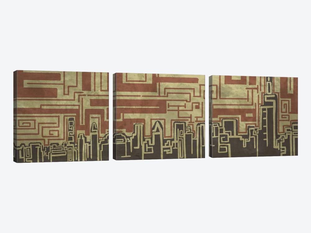 Silent Autobiography by Unknown Artist 3-piece Canvas Art Print