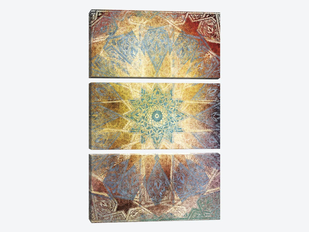 Visionary Act by Unknown Artist 3-piece Art Print