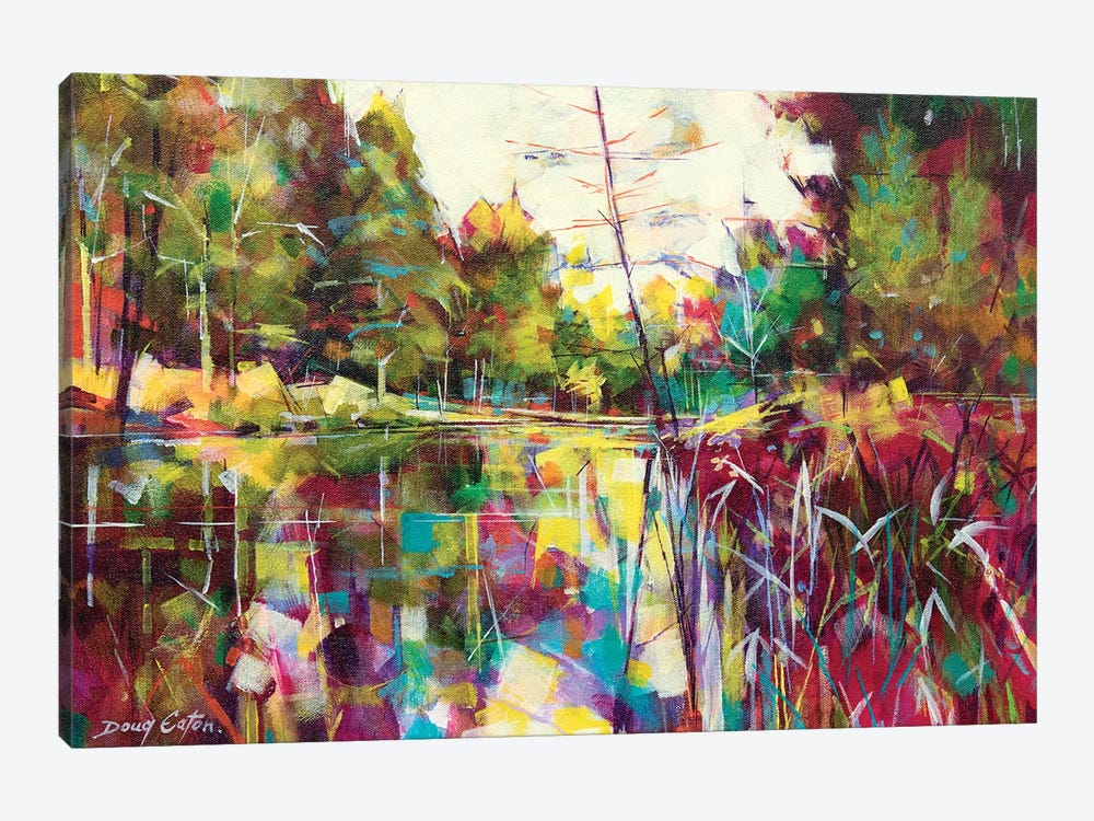 Soudley Ponds 1-piece Canvas Artwork