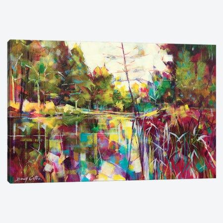 Soudley Ponds Canvas Print #ETN12} by Doug Eaton Canvas Wall Art