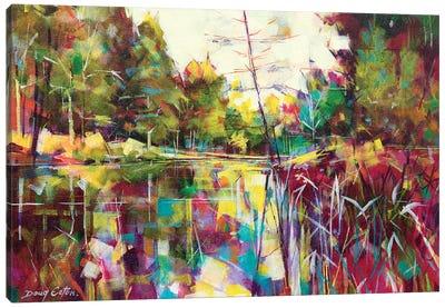 Soudley Ponds Canvas Art Print