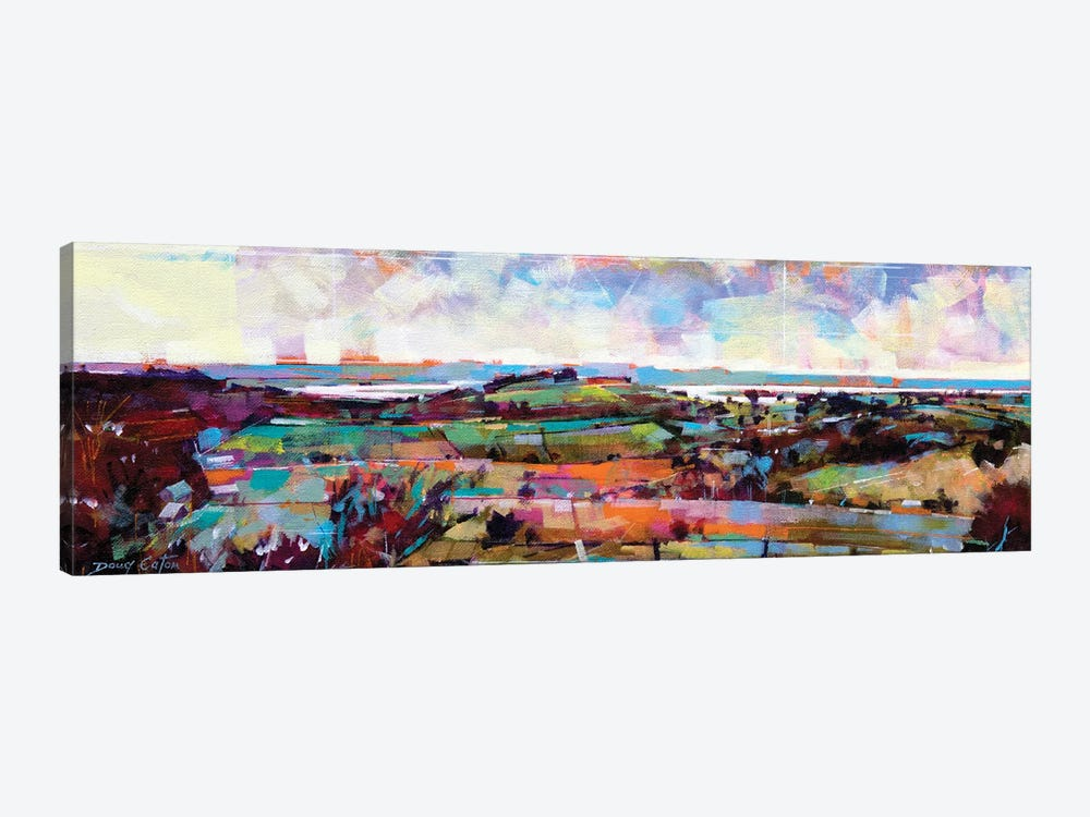 The Severn From Blakeney Hill by Doug Eaton 1-piece Canvas Print