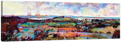 The Severn From Blakeney Hill Canvas Art Print