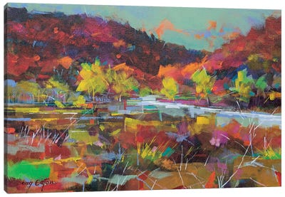 Wye Valley Memories Canvas Art Print