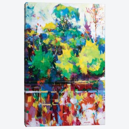 Cannop Ponds Canvas Print #ETN17} by Doug Eaton Canvas Art Print
