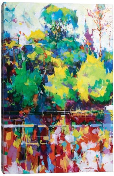 Cannop Ponds Canvas Art Print