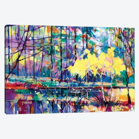 Meadowcliff Island Canvas Print #ETN21} by Doug Eaton Canvas Print