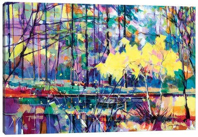 Meadowcliff Island Canvas Art Print