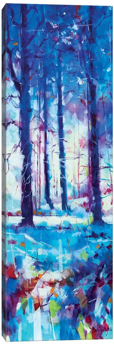Mile End Wood Canvas Art Print