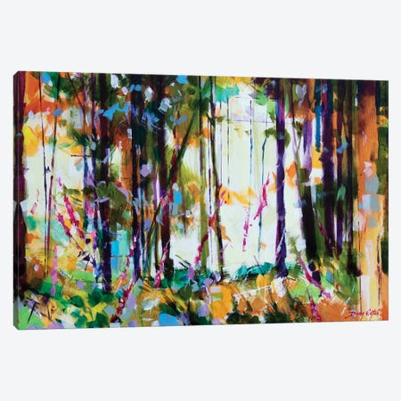 Snompers Near Long Hill Canvas Print #ETN23} by Doug Eaton Canvas Print