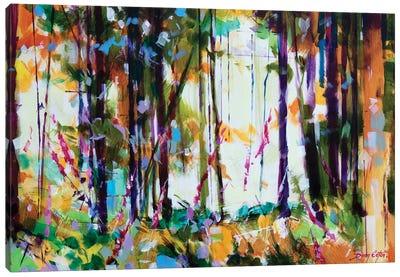Snompers Near Long Hill Canvas Art Print