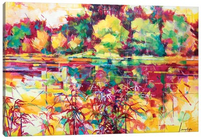 Cannop Ponds II Canvas Art Print
