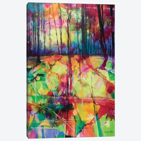 Mile End Woods Canvas Print #ETN8} by Doug Eaton Canvas Print