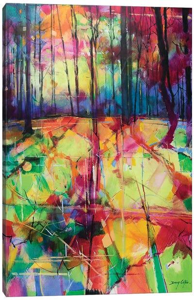 Mile End Woods Canvas Art Print