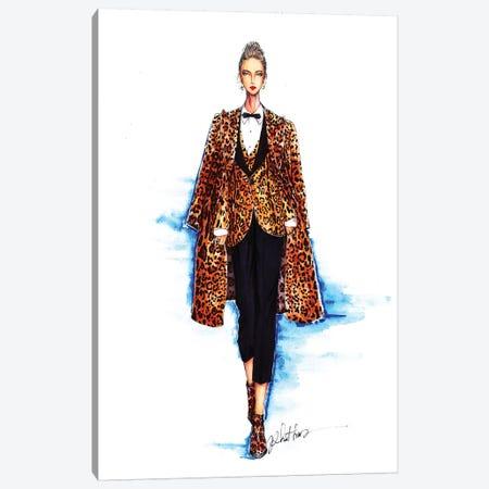 Dolce Gabbana Spring-Summer 2017 3-Piece Canvas #ETR22} by Eris Tran Canvas Print