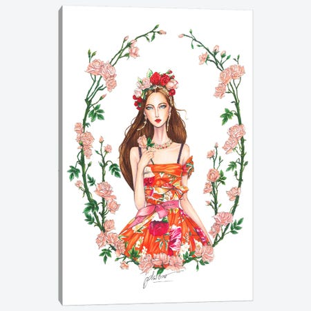 Dolce Gabbana Spring-Summer 2018A 3-Piece Canvas #ETR24} by Eris Tran Canvas Wall Art
